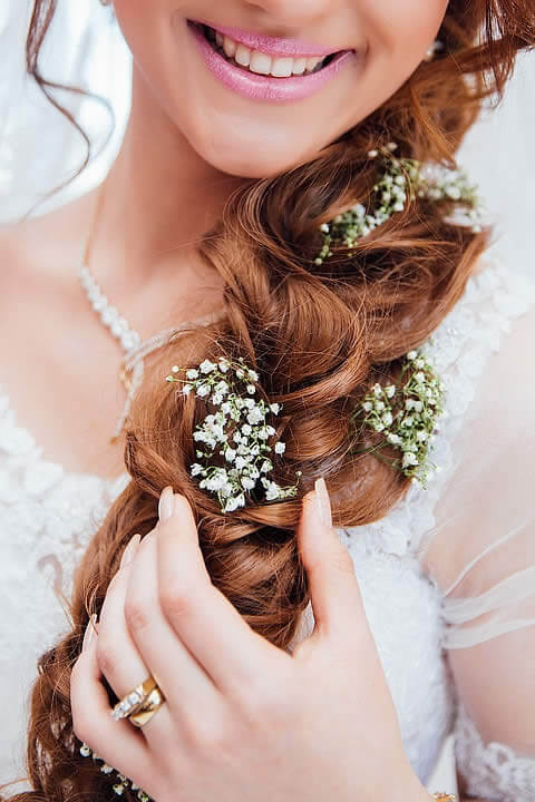 Top 2017 Wedding Hairstyles and Make-up Looks