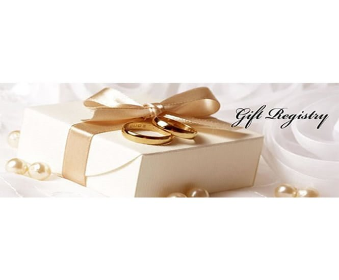 Have You Registered For Gifts Wedding Gift Registry
