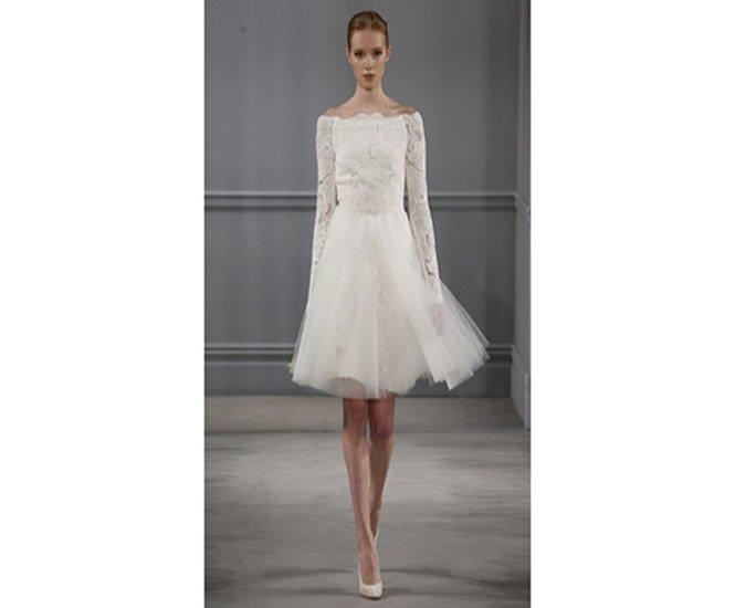 How To Wear A Short Wedding Dress Weddingtrendsetter