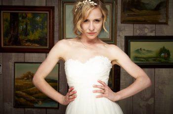 wedding day , Right Hair Style , White teeth , eyelashes and eyebrows , Wedding Makeup