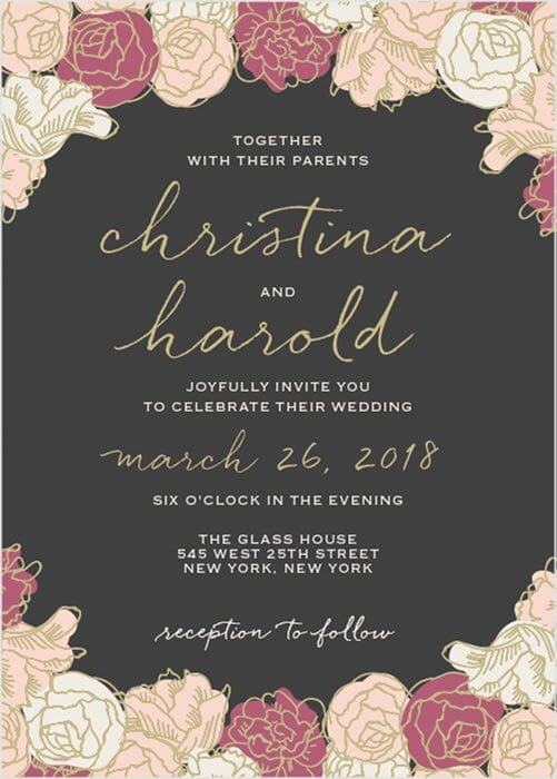 Luxurious Wedding Invitations