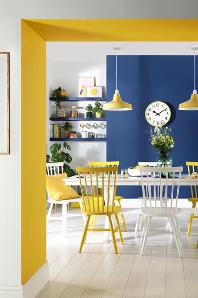 4 Yellow Home Decor Tips