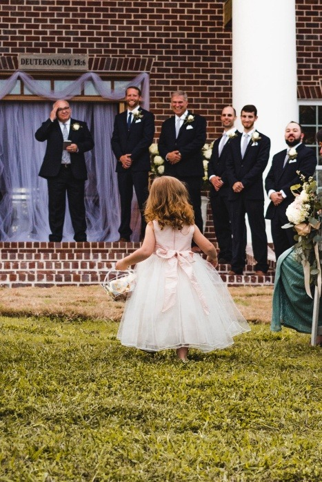 What is a flower girl?